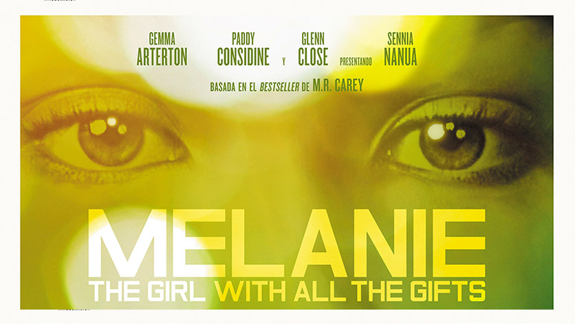 Poster de la película Melanie, the girl with all the gifts (VOSE)