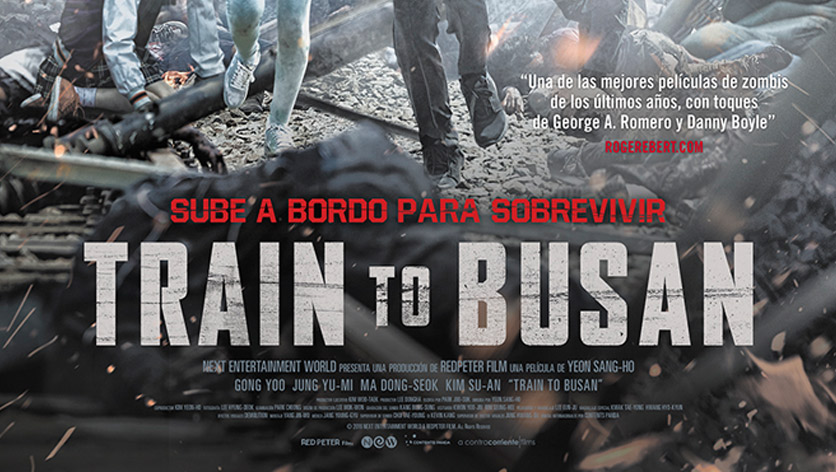 Poster de la película Train to Busan (VOSE)