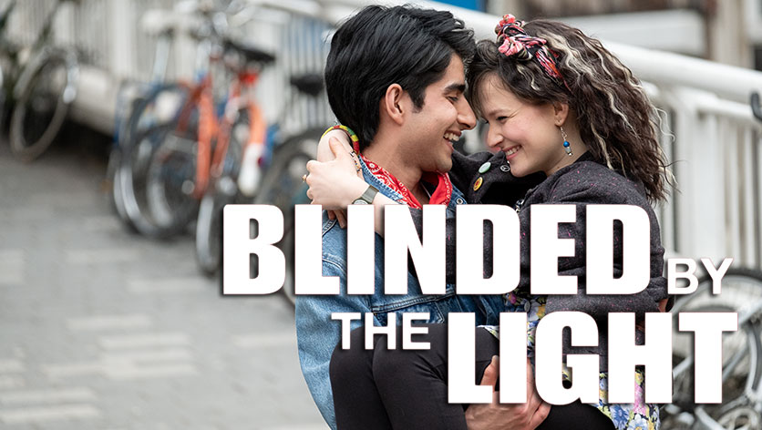 Poster de la película Blinded by the Light (cegado por el sol)