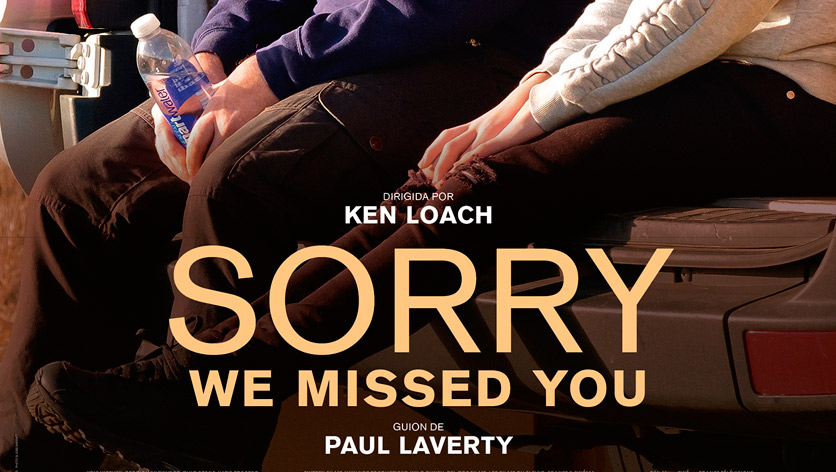 Poster de la película Sorry we missed you