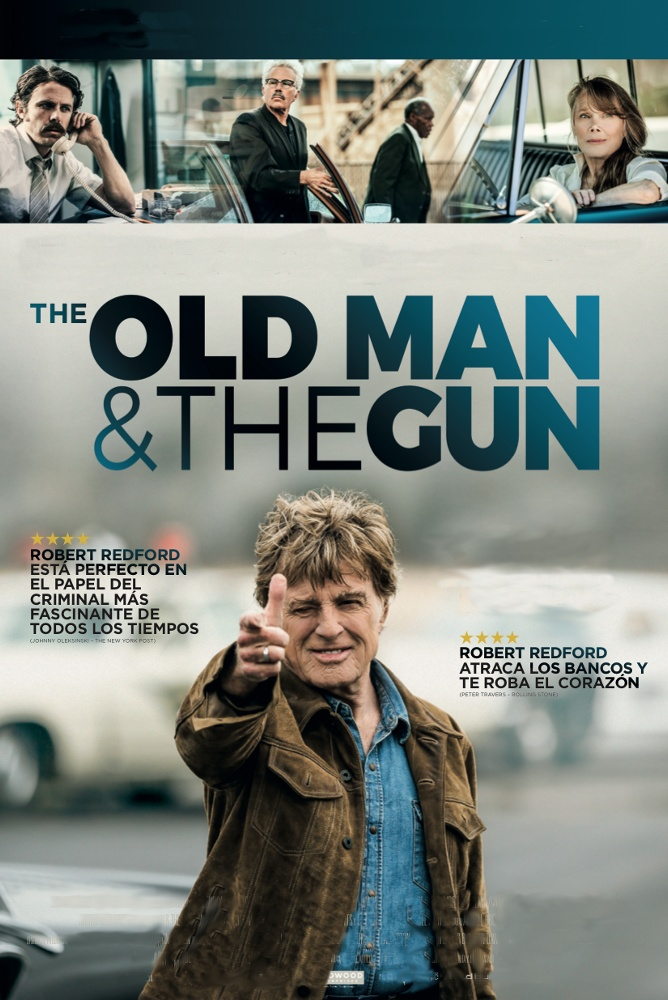 Poster de la película The old man and the gun (VOSE)