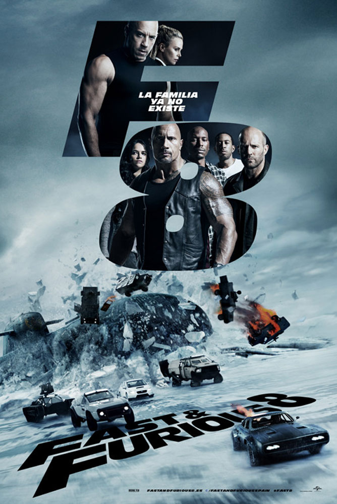 (4DX) Fast Furious 8