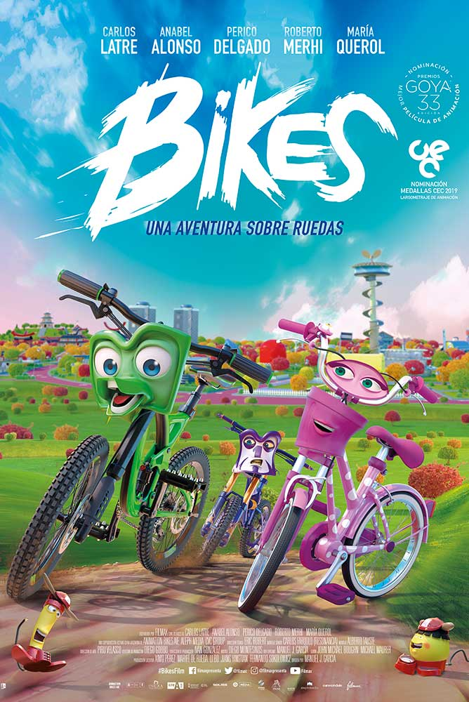 Poster de la película Bikes The Movie