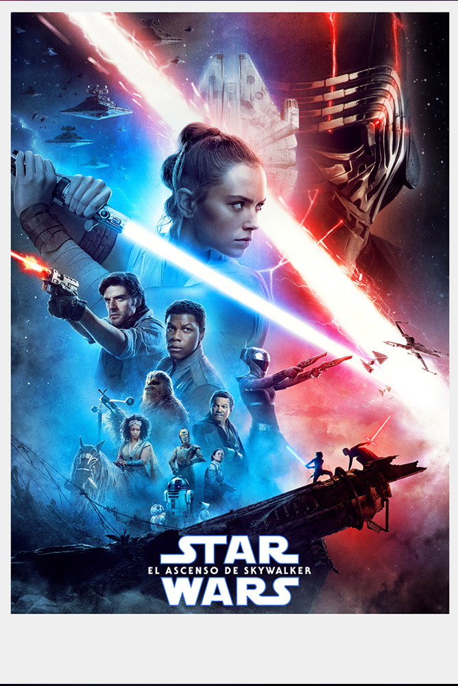 (4DX) (3D) Star Wars: El ascenso de Sky Walker