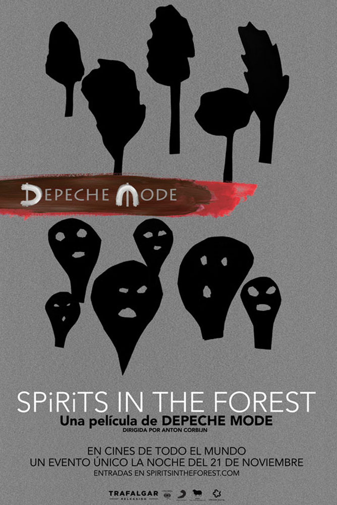 (Concierto) Depeche Mode (Spirits in the forest)
