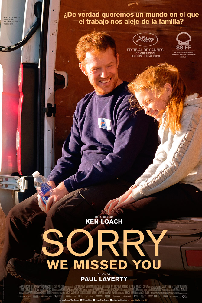 Poster de la película Sorry we missed you (VOSE)