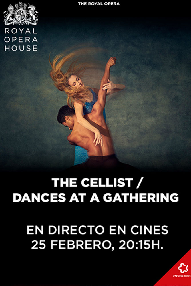 Imagen del poster de la película The Cellist. Dances at a Gathering