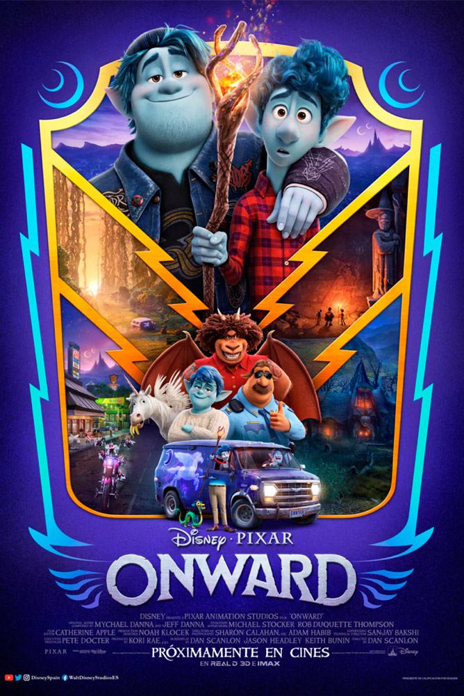 (4DX) (3D) Onward