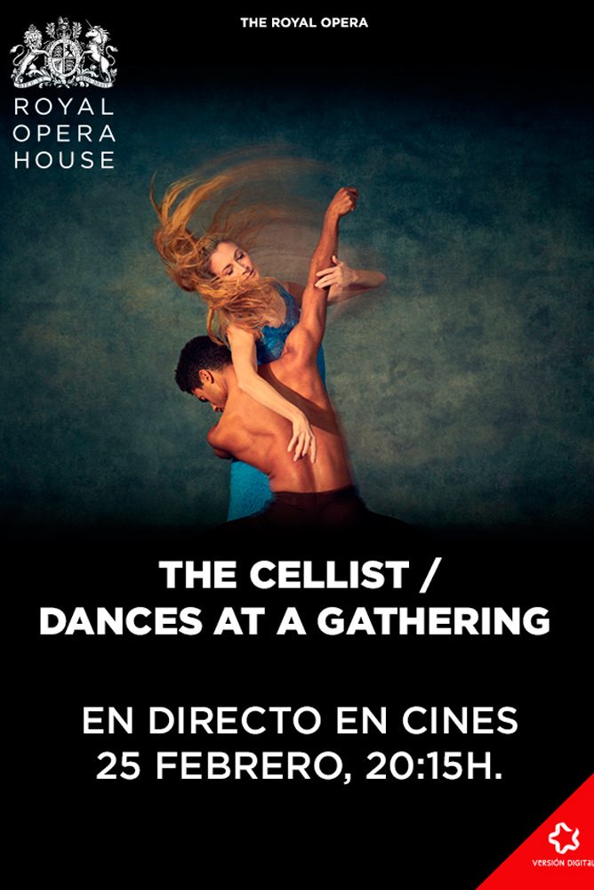 Poster de la película Ballet The Cellist. Dances at a Gathering