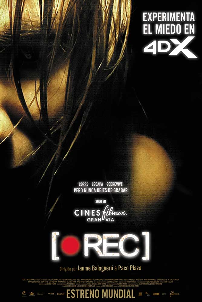 Cartel de 4dx-rec