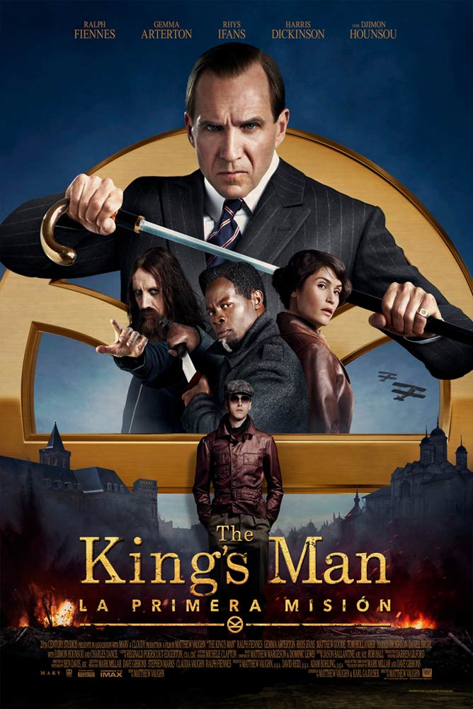 Poster de la película (4DX) The King's Man: La primera misión