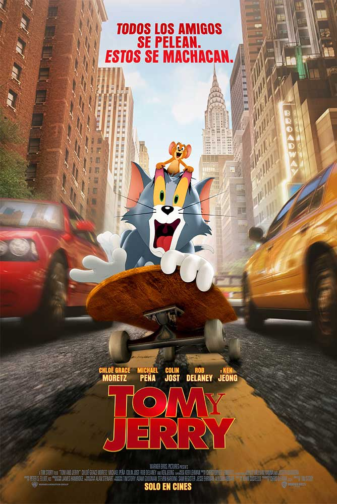 (4DX) Tom y Jerry